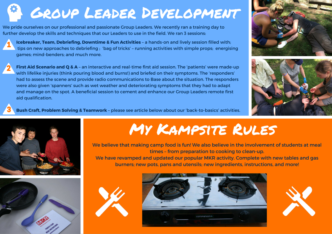 Group Leader Development AND Our Updated MKR