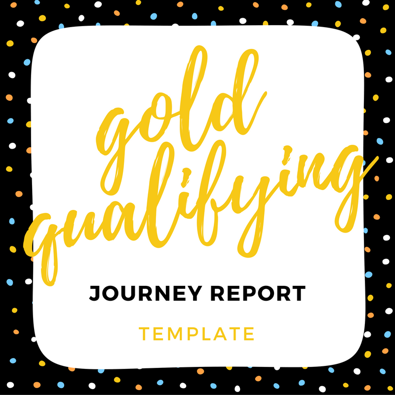 IMAGE gold qualifying report template link